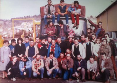 Equipe transports roselier 1982