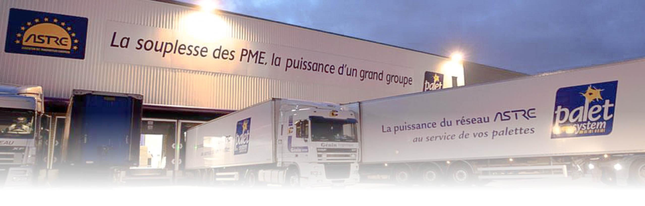 groupement astre transports, la souplesse des PME, la puissance d'un grand groupe