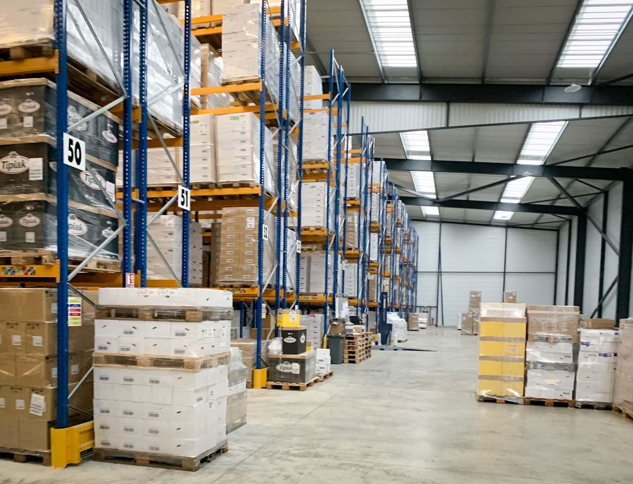 logistique stockage cargaison pays d'auge normandie